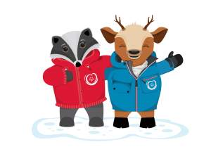 2017 World Winter Games Mascot