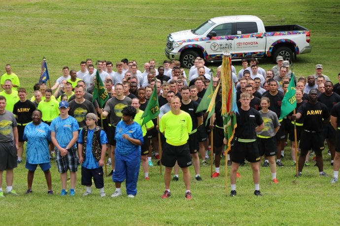 Fort Riley Torch Runners