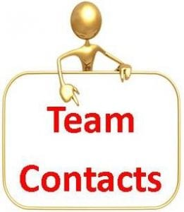 Team Contacts